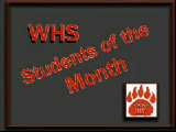 WHS Student of the Month