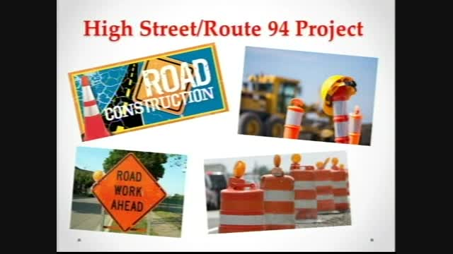 High Street/Route 94 Project Update