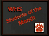 WHS Students of the Month