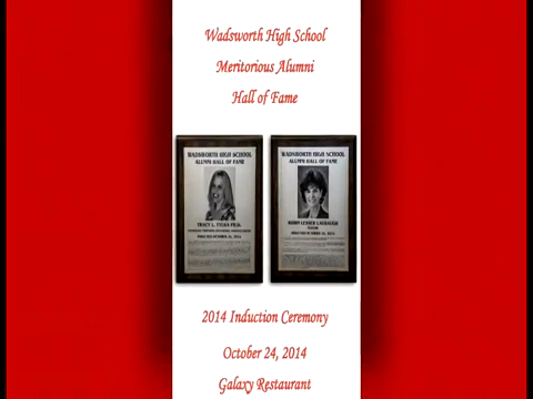 WHS Meritorious Alumni Hall of Fame Induction Ceremony