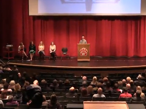 WHS National Honor Society Induction Ceremony