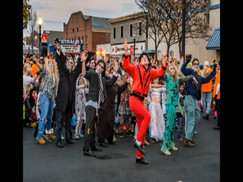 Scare on the Square & Thriller