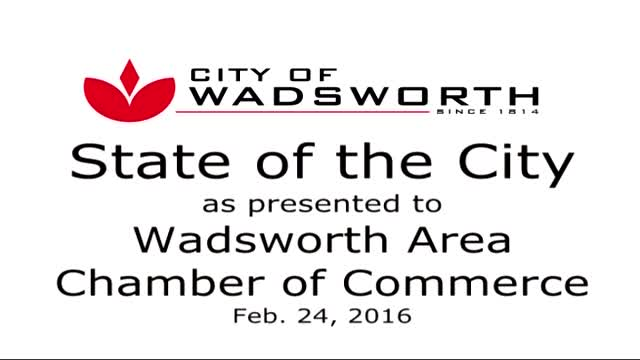 City of Wadsworth - State of the City