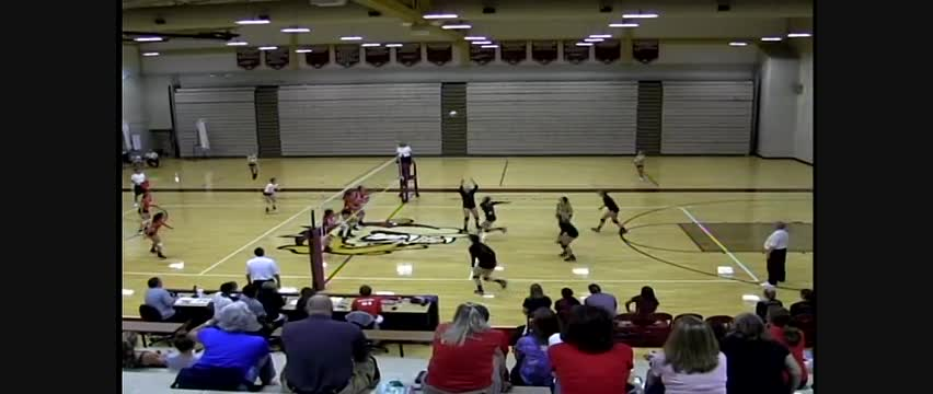 WHS Varsity Volleyball at Stow